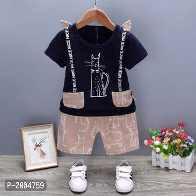 Smart look pant set for boys (Navy)