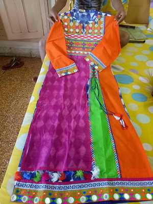Gujrat traditional embroidered kurti
