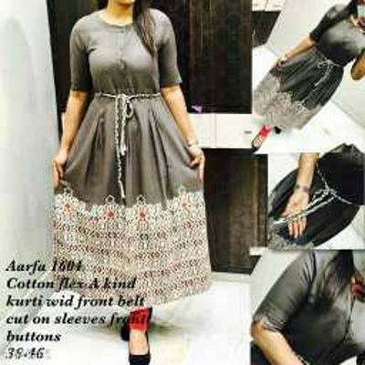 Stylish Cotton Flex Kurti