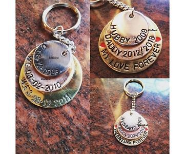 Personalize Stamp Key chain