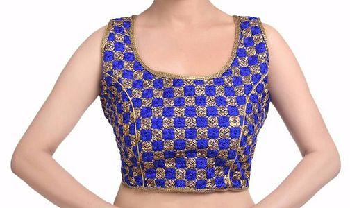 Ready-made designer blouse