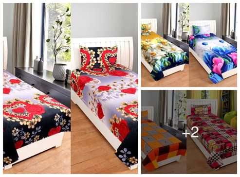 multicolored-poly-cotton-single-bedsheet-combo