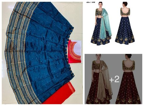 satin-semi-stitched-lehenga-cholis