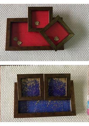 Coaster with tray