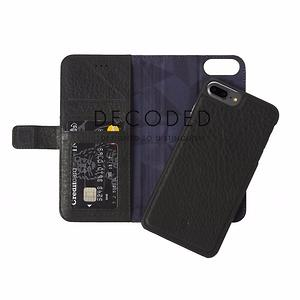 DECODED - Premium Handmade leather 2in1 executive case for Apple iPhone 7 /6 /6S