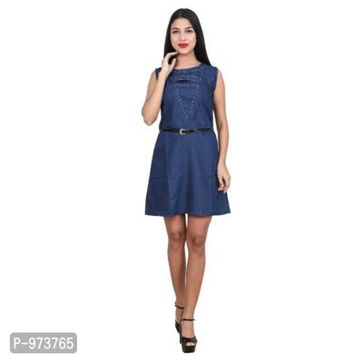 ad50ea86de2 Women Shaded Denim Dress - Buy latest collections - Page 2 - GlowRoad
