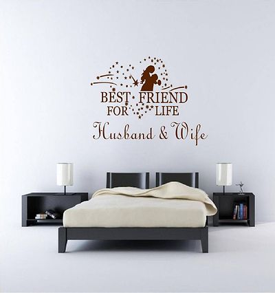 Husband & Wife Wall Sticker