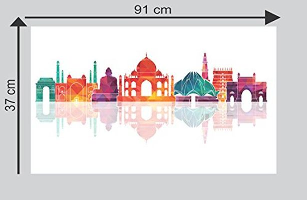 Famous Places Wall Sticker