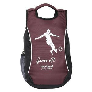 Right Choice (2216 Game on) Black, Purple stylish tuff quality college school casual Backpack bags (boys and girls)