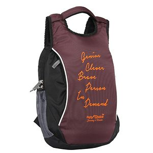 Right Choice (2217 Genius) Black, Purple stylish tuff quality college school casual Backpack bags (boys and girls)