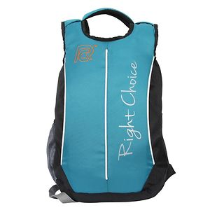 Right Choice (2205 Right) Black, Blue stylish tuff quality college school casual Backpack bags (boys and girls)