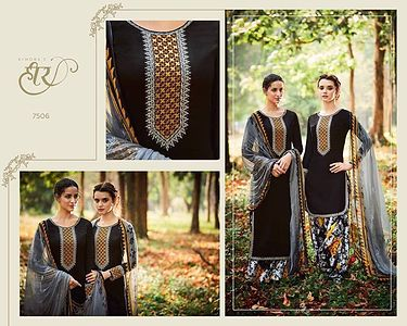 *New Arrival*  *Catalogue Name - Heer Vol - 26*  *Brand Name - Heer (Kimora)*  Fabric Details Attached