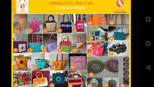 jute bags n home decoration