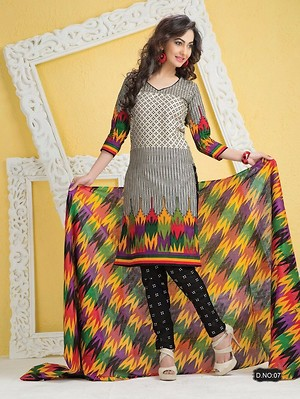 Cotton Casual Dress Material