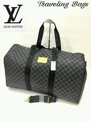 LV & Gucci Travelling Bags