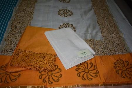 Silk cotton salwar suit