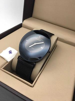 Rado watch with magnetic belt