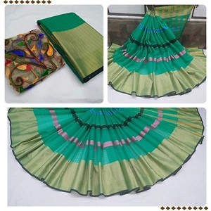Cotton Saree Kota base