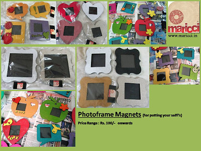 Photoframe Fridge Magnets