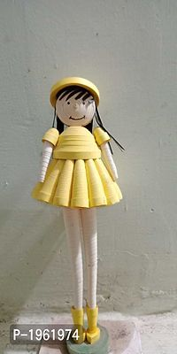 quilling doll