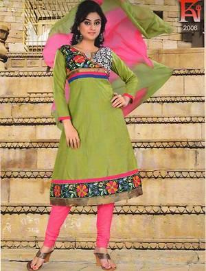 Readymade Cotton Salwar Set