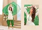 Green and White Patiyala