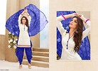 Blue and White Patiyala
