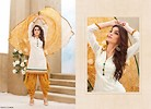Yellow  and White Patiyala