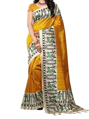 Mysore art silk saree