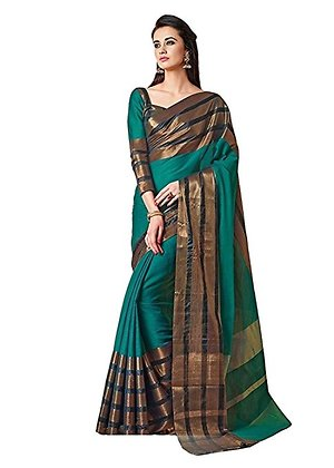 Buy Cotton silk sarees with assured Gift