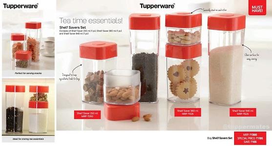 tupperware shelf saver set by Deepti Kestwal's Shop