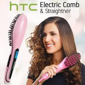 Brushed hair straightener by htc