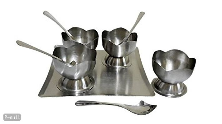 Stainless Steel Dessert Combo Gifting Set, 9-Pieces, Silver