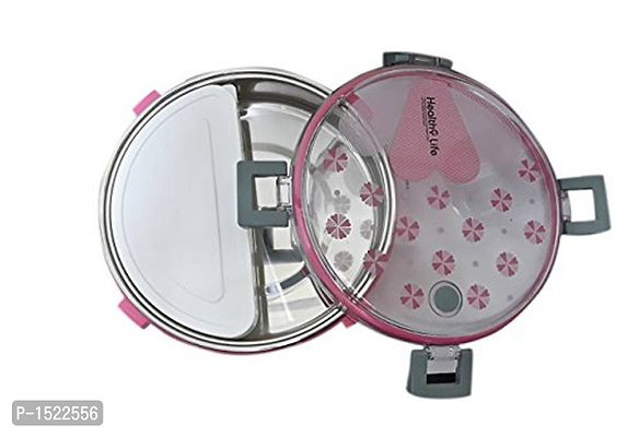Stainless Steel Lunch Box, Pink