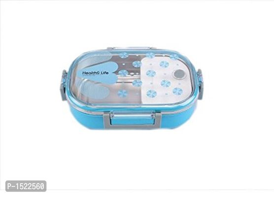 Stainless Steel Lunch Box, 710ml, Blue