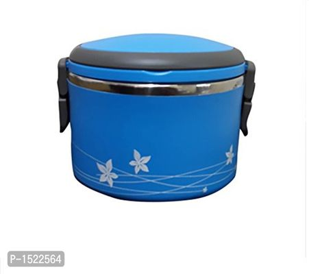 Stainless Steel Lunch Box, Blue