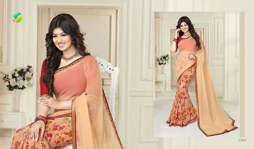 light weight Georgette sarees