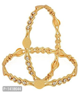 Traditional Temple Coin Gold Plated Bangles