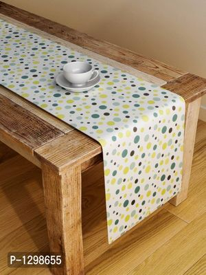 Handcrafted Youthful Artistry Table Runner