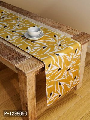 Handcrafted Ocre Bequest Table Runner