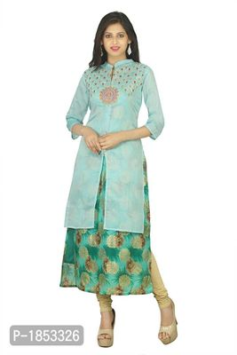Sky Blue Two Part Kurta