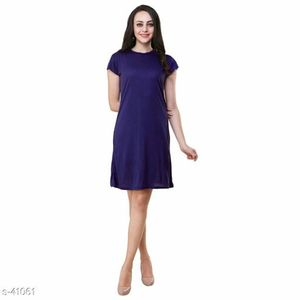 Body fit Viscose Dress for her