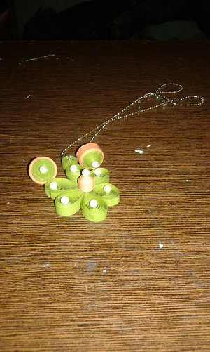 Kids Special : Beautifull Flower Pendant set with Tiny Studs