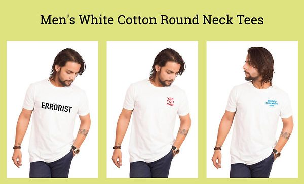 men-s-white-cotton-round-neck-tees