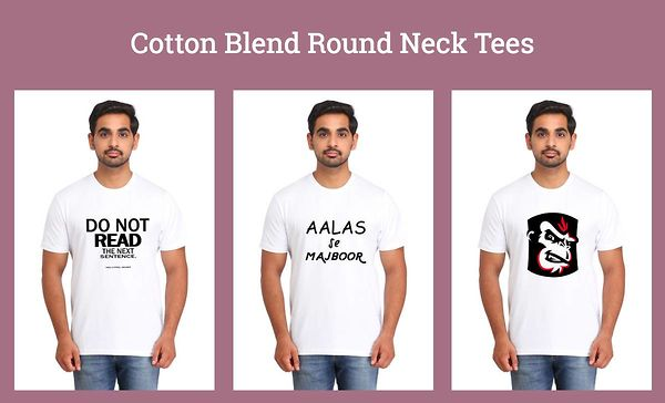 cotton-blend-round-neck-tees