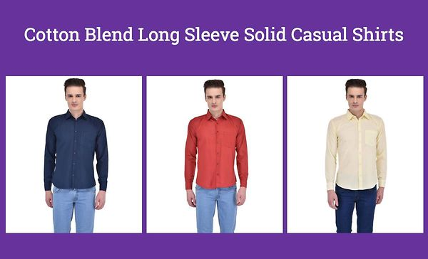 cotton-blend-long-sleeve-solid-casual-shirts