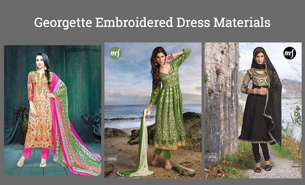 georgette-embroidered-dress-materials