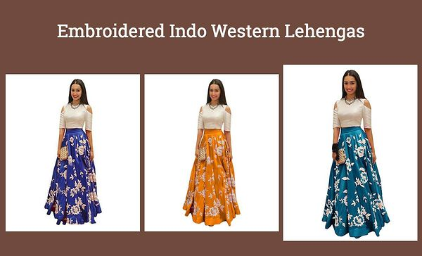 embroidered-indo-western-lehengas