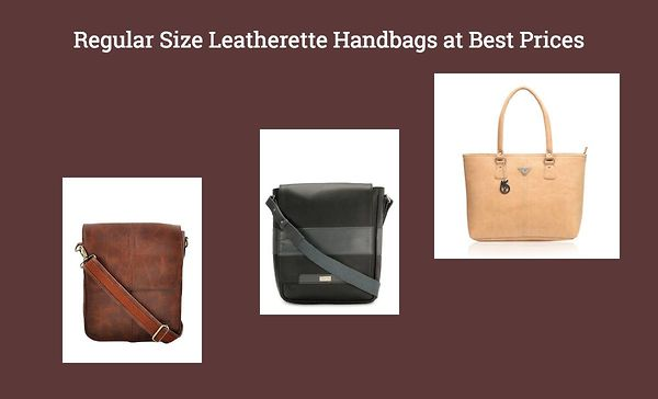 regular-size-leatherette-handbags-at-best-prices