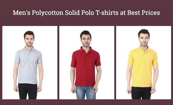 men-s-polycotton-solid-polo-t-shirts-at-best-prices